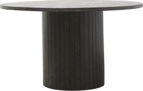 På billedet ser du variationen Spisebord, Pillar fra brandet House Doctor i en størrelse D: 130 cm. H: 74 cm. i farven Sort