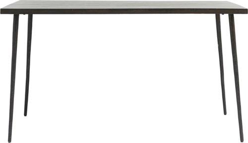 På billedet ser du variationen Spisebord, Slated fra brandet House Doctor i en størrelse H: 76 cm. B: 80 cm. L: 140 cm. i farven Sort