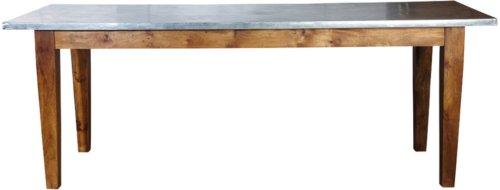 På billedet ser du variationen Workstation, Spisebord fra brandet House Doctor i en størrelse 200 x 80 cm. x H: 76 cm. i farven Mørkebrun/Jern
