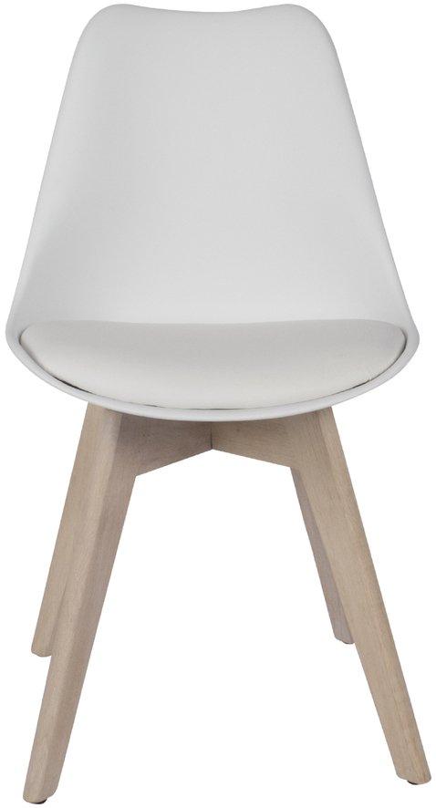 På billedet ser du variationen Spisebordsstol, Mia fra brandet Preform i en størrelse H: 84 cm. B: 47 cm. L: 49 cm. i farven Lys Natur/Hvid