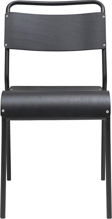 På billedet ser du variationen Spisebordstol, Original fra brandet House Doctor i en størrelse B: 41 cm. L: 41,5 cm. i farven Sort