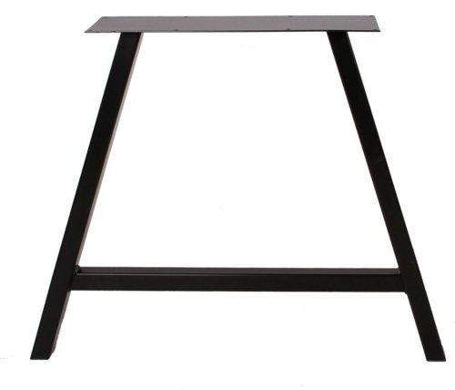 På billedet ser du variationen Stel til plankeborde, A base fra brandet Preform i en størrelse H: 70,5 cm. B: 80 cm. L: 15 cm. i farven Sort