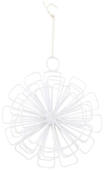 På billedet ser du variationen Stjerne, 12 square fra brandet House Doctor i en størrelse B: 10 cm. i farven Hvid