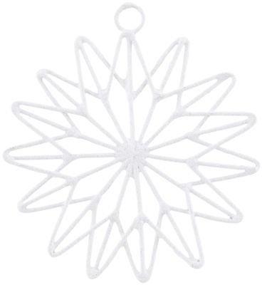På billedet ser du variationen Stjerne, 15 point fra brandet House Doctor i en størrelse B: 10 cm. i farven Hvid