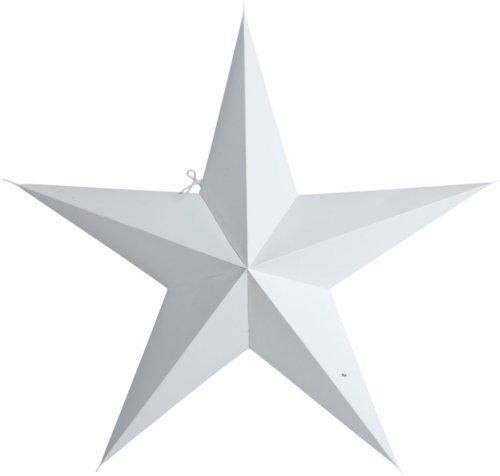 På billedet ser du variationen Stjerne, 5 point fra brandet House Doctor i en størrelse B: 60 cm. i farven Hvid