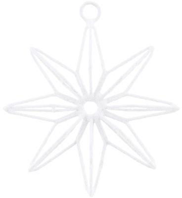 På billedet ser du variationen Stjerne, 8 point fra brandet House Doctor i en størrelse B: 10 cm. i farven Hvid