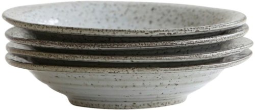 På billedet ser du variationen Rustic, Suppetallerken/skål fra brandet House Doctor i en størrelse D: 25 x cm. x H: 5 cm. i farven Grå/Blå