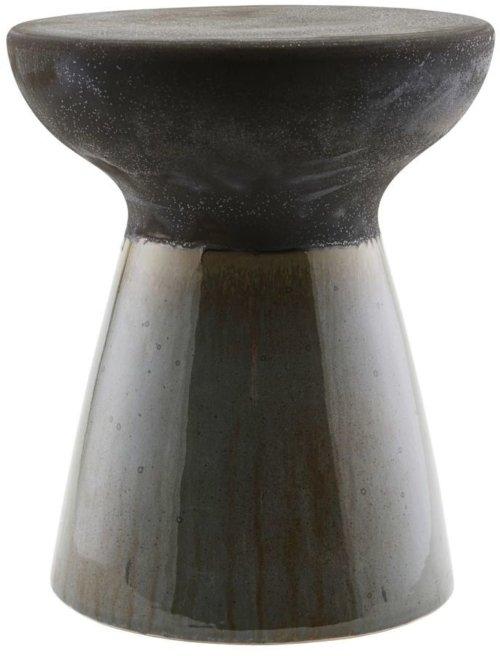 På billedet ser du variationen Taburet, Pablo fra brandet House Doctor i en størrelse D: 36 cm. x H: 43 cm. i farven Sort