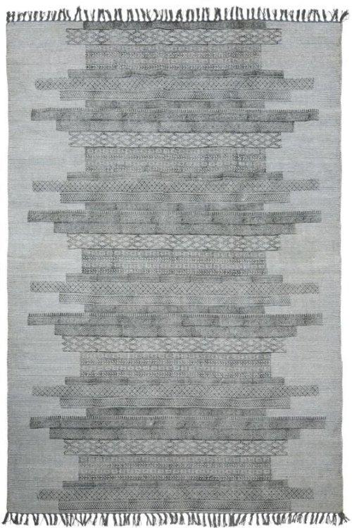 På billedet ser du Tæppe, Karma fra brandet House Doctor i en størrelse 160 x 230 cm. i farven Grå