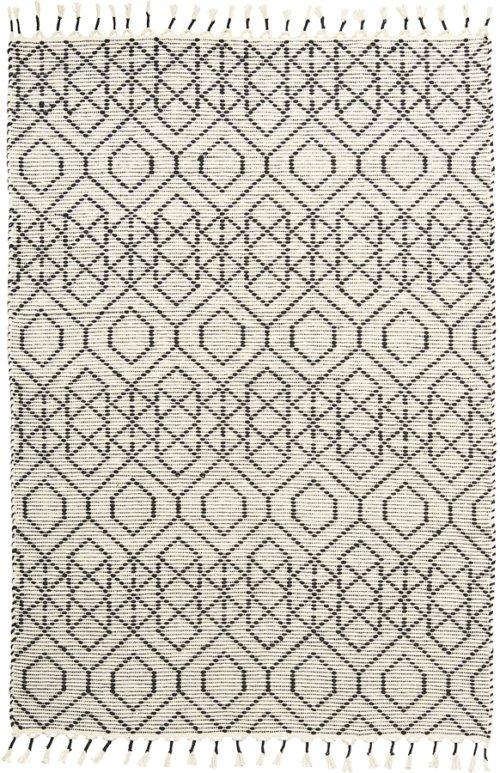 På billedet ser du variationen Tæppe, Reverse fra brandet House Doctor i en størrelse B: 140 cm. L: 200 cm. i farven Off-white