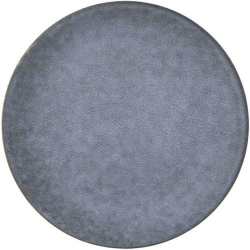 På billedet ser du variationen Grey Stone, Tallerken fra brandet House Doctor i en størrelse D: 25,4 cm. x H: 2 cm. i farven Grå