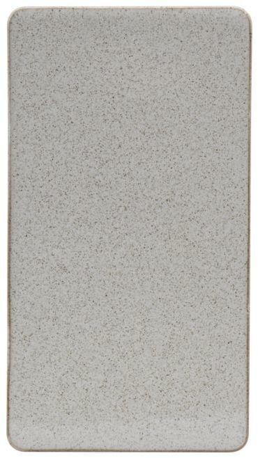 På billedet ser du variationen Tallerken, Ivy fra brandet House Doctor i en størrelse B: 13,7 cm. L: 25 cm. i farven Sand