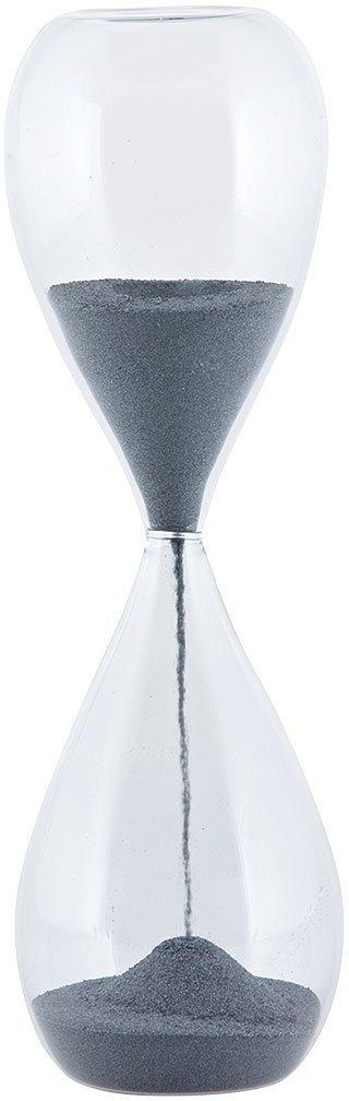 På billedet ser du variationen Timeglas fra brandet House Doctor i en størrelse D: 7 cm. x H: 24 cm. i farven Klar
