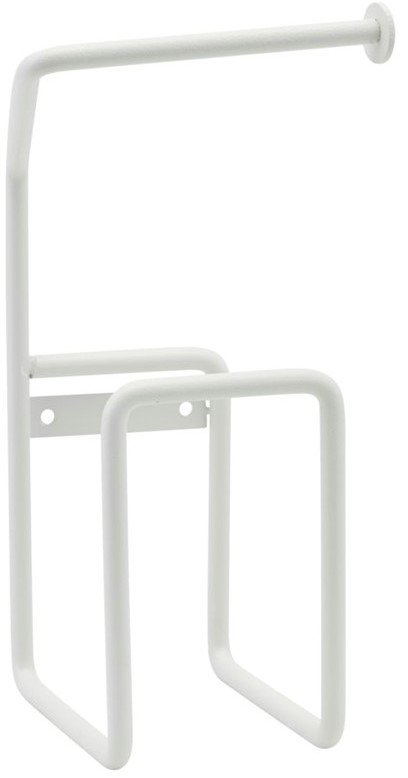 På billedet ser du variationen Toiletpapirholder, Via fra brandet House Doctor i en størrelse H: 24,5 cm. i farven Hvid