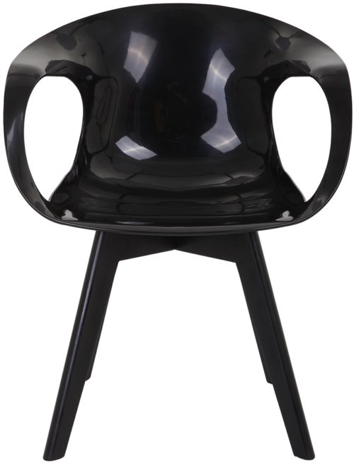 På billedet ser du variationen Spisebordsstol, Tomcat fra brandet Preform i en størrelse H: 81 cm. B: 47 cm. L: 55 cm. i farven Sort