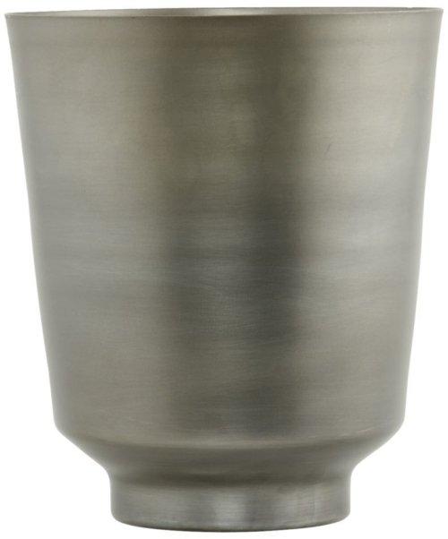 På billedet ser du variationen Oli, Urtepotte fra brandet House Doctor i en størrelse D: 20 cm. x H: 25 cm. i farven Jern