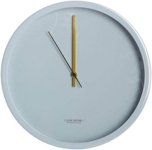 På billedet ser du variationen Clock Couture, Vægur, Grey fra brandet House Doctor i en størrelse D: 30 cm. i farven Grå