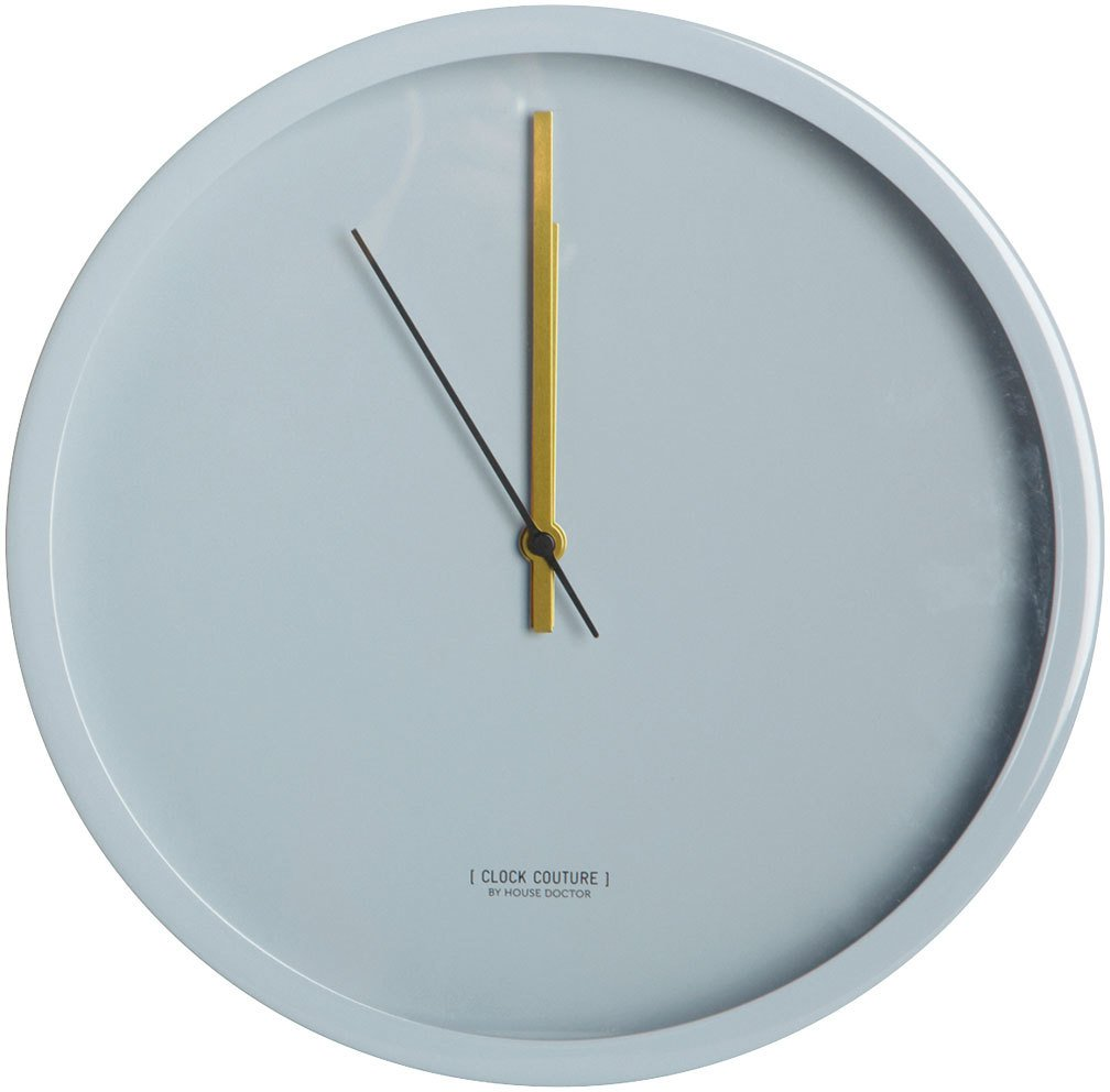 Image of   Clock Couture, Vægur, Grey by House Doctor (D: 30 cm., Grå)
