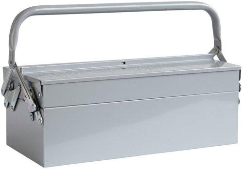 På billedet ser du variationen Værktøjskasse, Tool fra brandet House Doctor i en størrelse H: 11,5 cm. B: 20 cm. L: 42 cm. i farven Grå