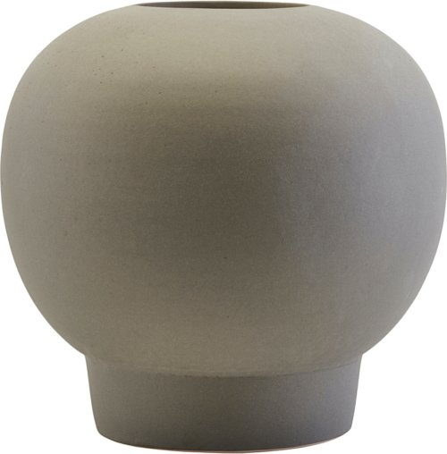 På billedet ser du variationen Vase, Bobble fra brandet House Doctor i en størrelse D: 23,5 cm. H: 22 cm. i farven Mørkegrå