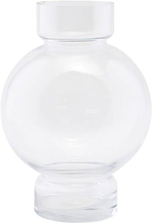 På billedet ser du variationen Vase, Bubble fra brandet House Doctor i en størrelse D: 17,5 cm. H: 25 cm. i farven Klar