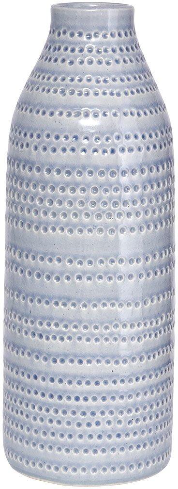 På billedet ser du variationen Circles, Vase, Grå fra brandet House Doctor i en størrelse D: 14,5 cm. x H: 42 cm. i farven Grå