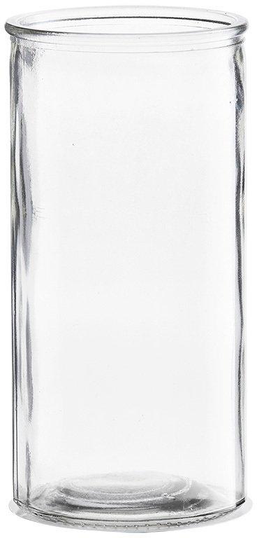 På billedet ser du variationen Cylinder, Vase fra brandet House Doctor i en størrelse D: 10 cm. x H: 20 cm. i farven Klar