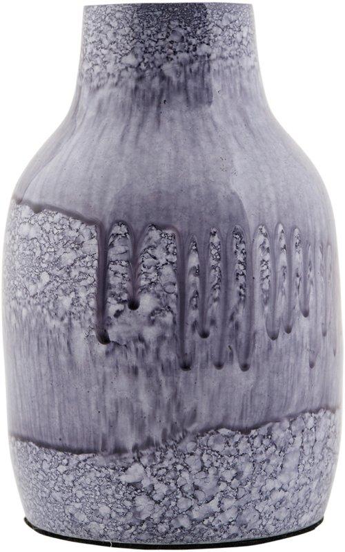 På billedet ser du variationen Effect, Vase, Jern fra brandet House Doctor i en størrelse D: 8,5 cm. x H: 14 cm. i farven Blå