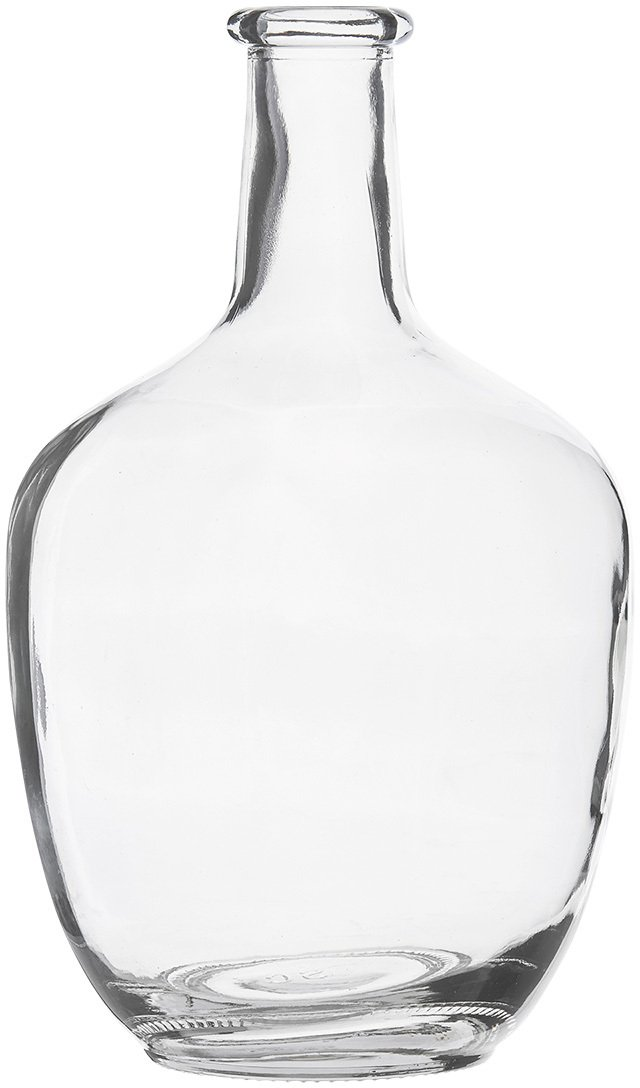 Image of   Glass, Vase, Slank hals by House Doctor (D: 16,5 cm. x H: 30,5 cm., Klar)