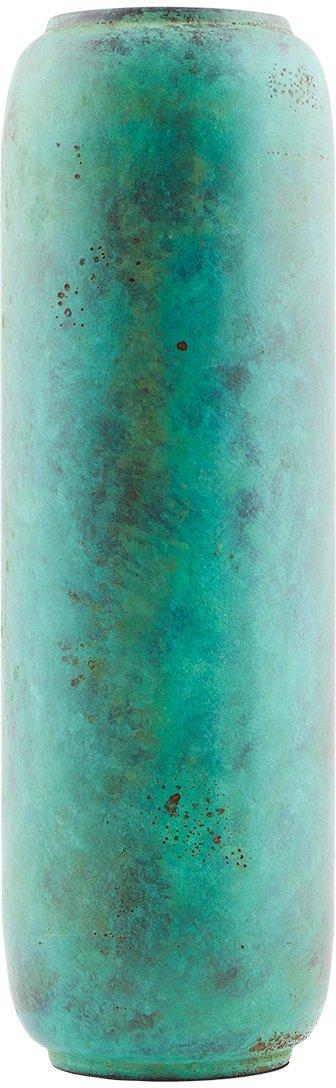På billedet ser du variationen Greens, Vase fra brandet House Doctor i en størrelse D: 11 cm. x H: 34 cm. i farven Grøn Turkis