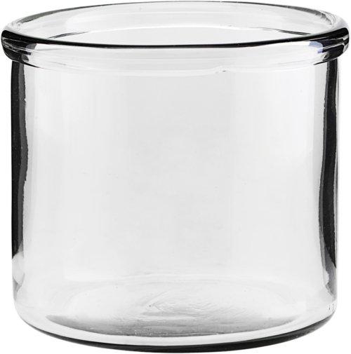 På billedet ser du variationen Vase, Reem fra brandet House Doctor i en størrelse D: 15 cm. H: 13 cm. i farven Glas