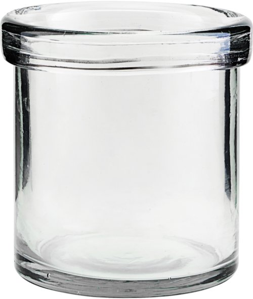 På billedet ser du variationen Vase, Reem fra brandet House Doctor i en størrelse D: 10 cm. H: 10 cm. i farven Glas