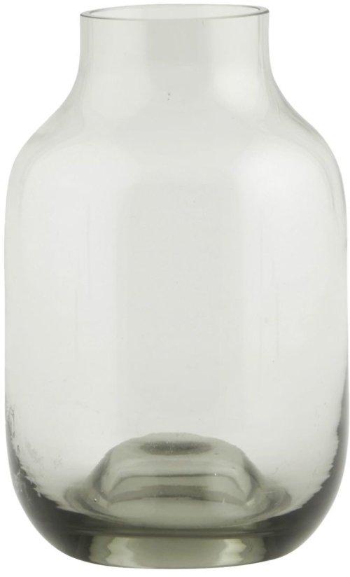 På billedet ser du variationen Shaped, Vase fra brandet House Doctor i en størrelse D: 9 cm. x H: 14 cm. i farven Grå