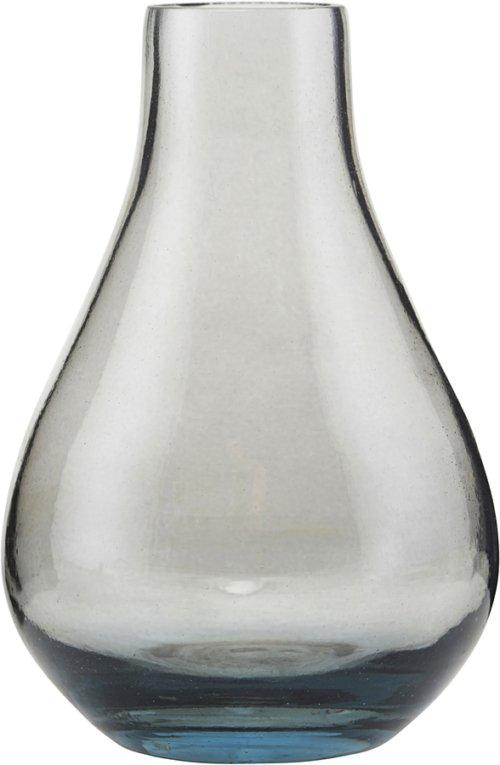 På billedet ser du variationen Vase, Vasera fra brandet House Doctor i en størrelse D: 7 cm. H: 11 cm. i farven Grå