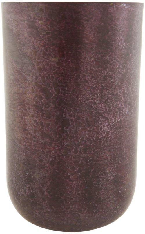På billedet ser du variationen Style, Vase/potte fra brandet House Doctor i en størrelse D: 9 cm. x H: 14 cm. i farven Aubergine