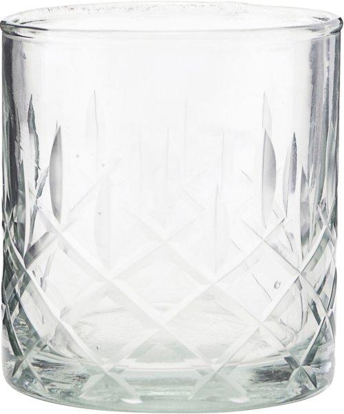 På billedet ser du variationen Whiskyglas, Vintage fra brandet House Doctor i en størrelse D: 8 cm. H: 9 cm. i farven Glas