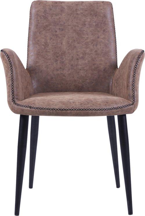 På billedet ser du Spisebordsstol, Will fra brandet Preform i en størrelse H: 82 cm. B: 59 cm. L: 62 cm. i farven Brun/Sort