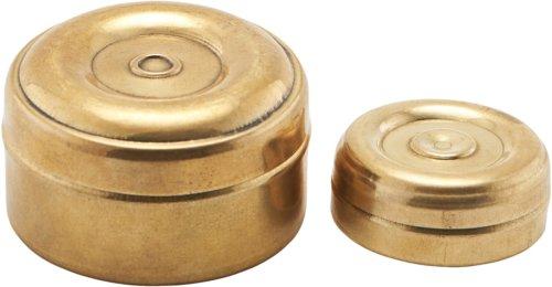 På billedet ser du variationen Æske mini, Messing fra brandet Meraki i en størrelse Ø: 3,5 cm. H: 1,5 cm. L: 5 cm. i farven Guld