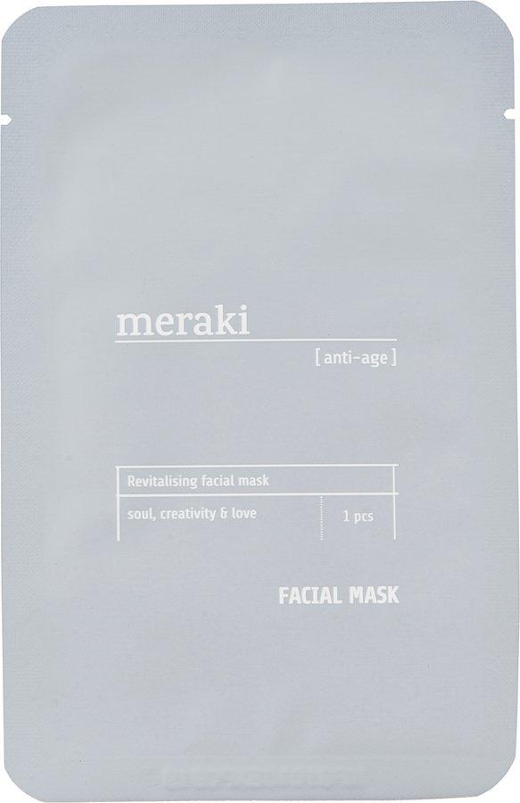 Image of   Ansigtsmaske, anti-age by Meraki (1 Stk./Pk., Grå)
