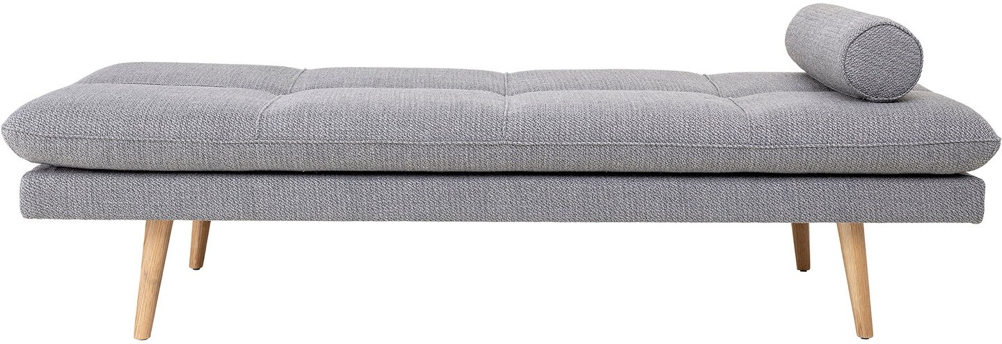 Image of   Daybed, Asher by Creative Collection (H: 47 cm. B: 80 cm. L: 190 cm., Lysegrå)