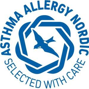 Produktet er Asthma Allergy Nordic certificeret