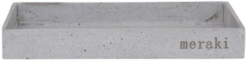På billedet ser du variationen Bakke, 30x20 cm fra brandet Meraki i en størrelse H: 3,5 cm. B: 20 cm. L: 30 cm. i farven Grå