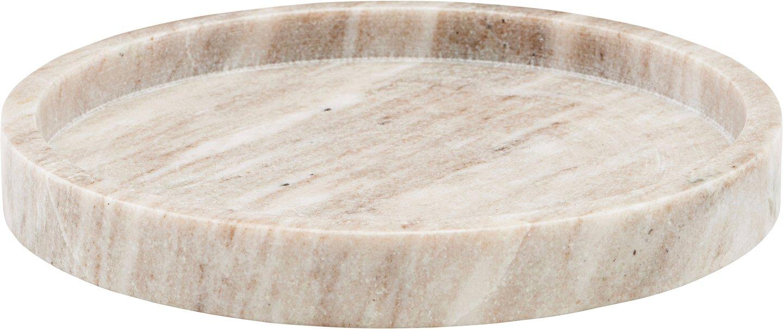 Image of   Bakke, marmor by Meraki (Ø: 25 cm. H: 3 cm., Beige)