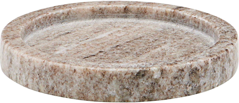 Image of   Bakke, marmor by Meraki (Ø: 12,5 cm. H: 2 cm., Mørkbeige)