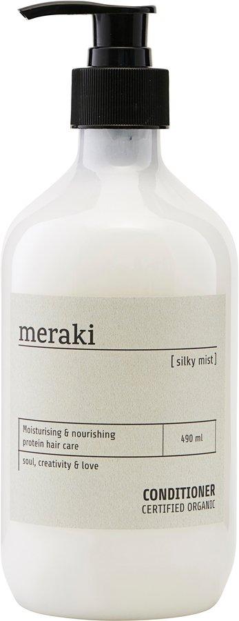 På billedet ser du variationen Balsam, Silky mist fra brandet Meraki i en størrelse Ø: 7 cm. H: 19 cm. i farven Hvid
