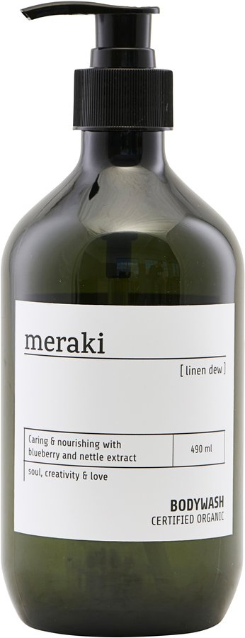 Image of   Body wash, Linen dew by Meraki (Ø: 7 cm. H: 19 cm., Sort)