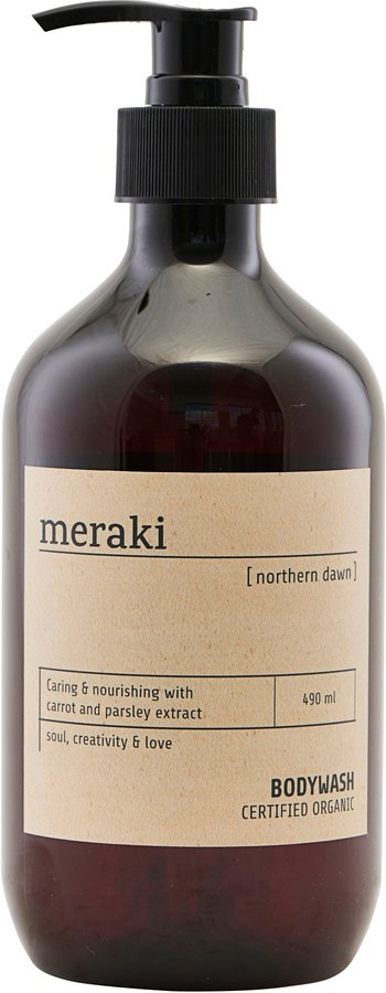 Image of   Body wash, Northern dawn by Meraki (Ø: 7 cm. H: 19 cm., Sort)