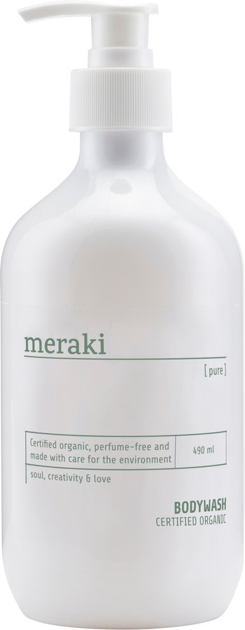 Image of   Body wash, Pure by Meraki (490 ML., Hvid)