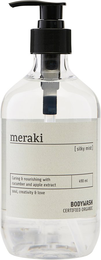 Image of   Body wash, Silky mist by Meraki (Ø: 7 cm. H: 19 cm., Transparent)