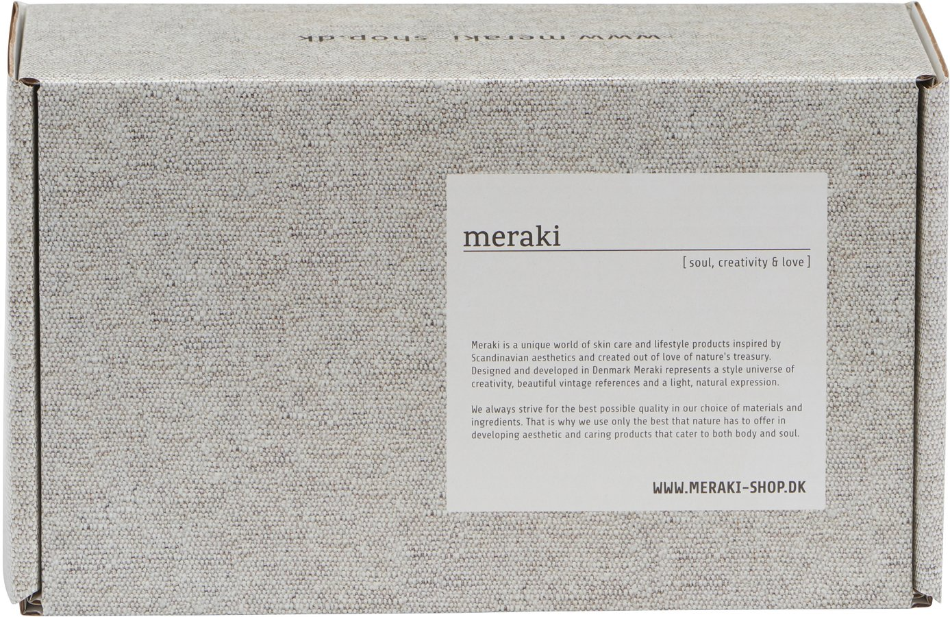 Image of   Boks, extra small by Meraki (H: 15 cm. B: 12 cm. L: 25 cm., Grå)